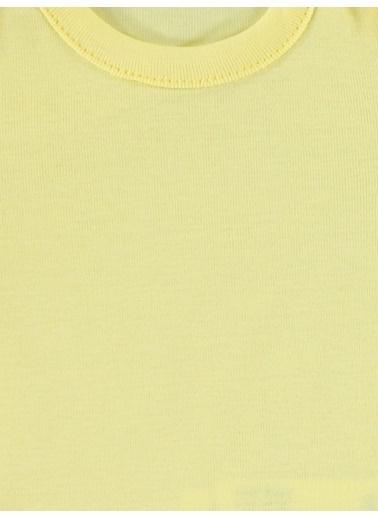 Civil Baby  Bebek Çıtçıtlı Badi 0-3 Ay Sarı 0-3 Ay Sarı